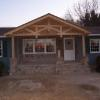 After building post & beam gable style front porch.